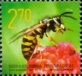 Wasp, stamp, MINT, 2014 (small size)