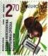 Dwarf Mouse (Micromys minutus), stamp, MNH, 2021