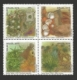 Plants Seal Textiles: Cotton, Cairo, Jute and Sisal, set of 4 stamps, MINT, 2010