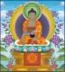 Twelve Deeds (Buddha), souvenir sheet with 1 stamp, MINT, 2014