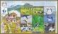Cranes, souvenir sheet with 8 stamps, MINT, 2015