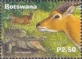 Crocodile and Antelopes, stamp, MINT, 2000