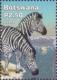 Zebra, stamp, MINT, 2002