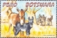 Domestic Animals: Donkeys, stamp, MINT, 2014