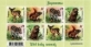Wild baby animals, souvenir sheet, MNH, 2021