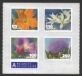 Vegetable blossoms, set of 4 self-adhesive stamps, MINT, 2011