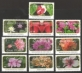 Flower Definitive Resized Smaller, set of 10 stamps, MINT, 2010