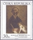 Bohuslav Reynek: Still life with the author (1955) - stamp, MINT, 2013