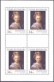 Hans von Aachen – Head of a Woman - souvenir sheet, MINT, 2015