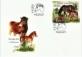 Exmoor Ponies, FDC, 2021