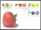 Fruits (postmark Bonn), FDC, 2010