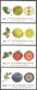 Fruits, set of 4 stamps, MINT, 2010