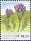 Danish Astragalus (Astragalus danicus), stamp, MINT, 2010 (small size)