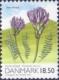 Danish Astragalus (Astragalus danicus), stamp, MINT, 2010 (small size)