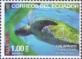 Green Sea Turtle (Chelonia mydas), stamp, MNH, 2015