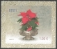 Christmas - Poinsettia, self-adhesive stamp, MINT, 2012