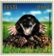 Estonian Fauna – The Mole, stamp, MNH, 2019