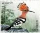 Eurasian Hoopoe, stamp, MNH, 2021