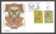Butterflies, set of 2 FDCs, 2011