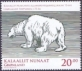 Polar bear, stamp, MINT, 2013