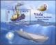 Ship and Submarine, souvenir sheet, MINT, 2015