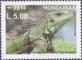 Iguana, stamp, MINT, 2014