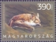Greater mouse-eared bat (Myotis myotis), stamp, MINT, 2013