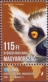 Gizmo the ring-tailed lemur, stamp, MINT, 2014