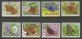 Butterfly Collection, set of 8 stamps, MINT, 2011