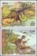 Dinosaurs, set of 2 souvenir sheet, MINT, 2010
