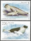 Seals, set of 2 stamps, MINT, 2010