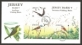 Summer Visiting Birds, FDC with souvenir sheet with 3 stamps, 2011