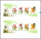 Flower, IMPERF. Booklet Pane of 8 stamps, MINT, 2013
