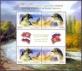 Birds of prey, souvenir sheet, MINT, 2014