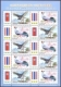 Goshawk and Siamese Fireback, Joint Issue Thailand-Korea, souvenir sheet 10 stamps, 2015