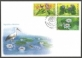 Plants on the way of disappearance from Moldova, FDC with stamps, 2008