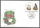 Mushrooms. Toadstools, set of 2 FDCs with stamps, 2010
