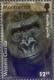 Western Gorilla (Gorilla gorilla), stamp, MINT, 2008