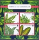 Ferns of the Caribbean, souvenir sheet with 4 stamps, MINT, 2012