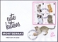 Kittens, FDC with souvenir sheet with 4 stamps, 2013