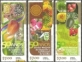 50 years National Service Inspection of Seeds, set of 3 stamps, MINT, 2011
