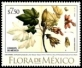 Flora of Mexico, stamp, MNH, 2018