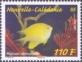 Golden Damsel (Amblyglyphidodon aureus), stamp, MINT, 2014