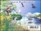 Birds Herons and Butterfly, souvenir sheet, MINT, 2015