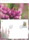 Heather (Calluna vulgaris), FDC in folder, 2010