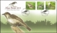 Birds, FDC with stamps, 2011