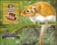 Prehistorical Animals: Canaanimys Maquiensis, souvenir sheet, MNH, 2013
