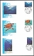 Turtles, Whales, Fish, set of 3 FDCs, 2009