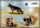 Dogs, souvenir sheet, MNH, 2018