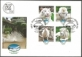 75 Anniversary of Belgrade Zoo, FDC with 4 stamps, 2011